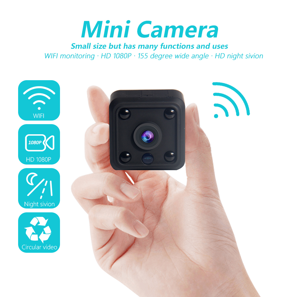 INQMEGA Original WIFI small mini Camera cam 720P video CMOS Sensor Night Vision Camcorder Micro Cameras DVR Motion RecorderINQMEGA Original WIFI small mini Camera cam 720P video CMOS Sensor Night Vision Camcorder Micro Cameras DVR Motion Recorder
