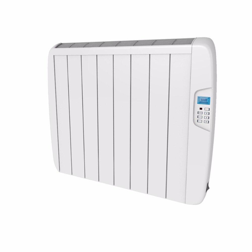 1500 watt Slimline Electric Panel Heater Radiator with 24/7 Digital timer Multi-function Remote Control
