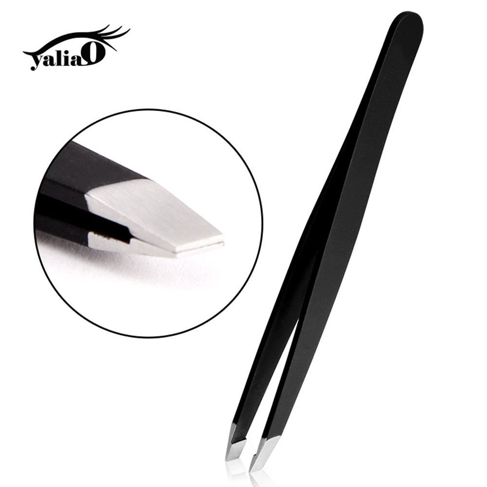 Eyebrow Tweezers Professional Stainless Steel Face Hair Removal Eye Brow Trimmer Eyelash Clip Cosmetic Beauty Makeup Tool in Eyebrow Tweezers from Beauty Health
