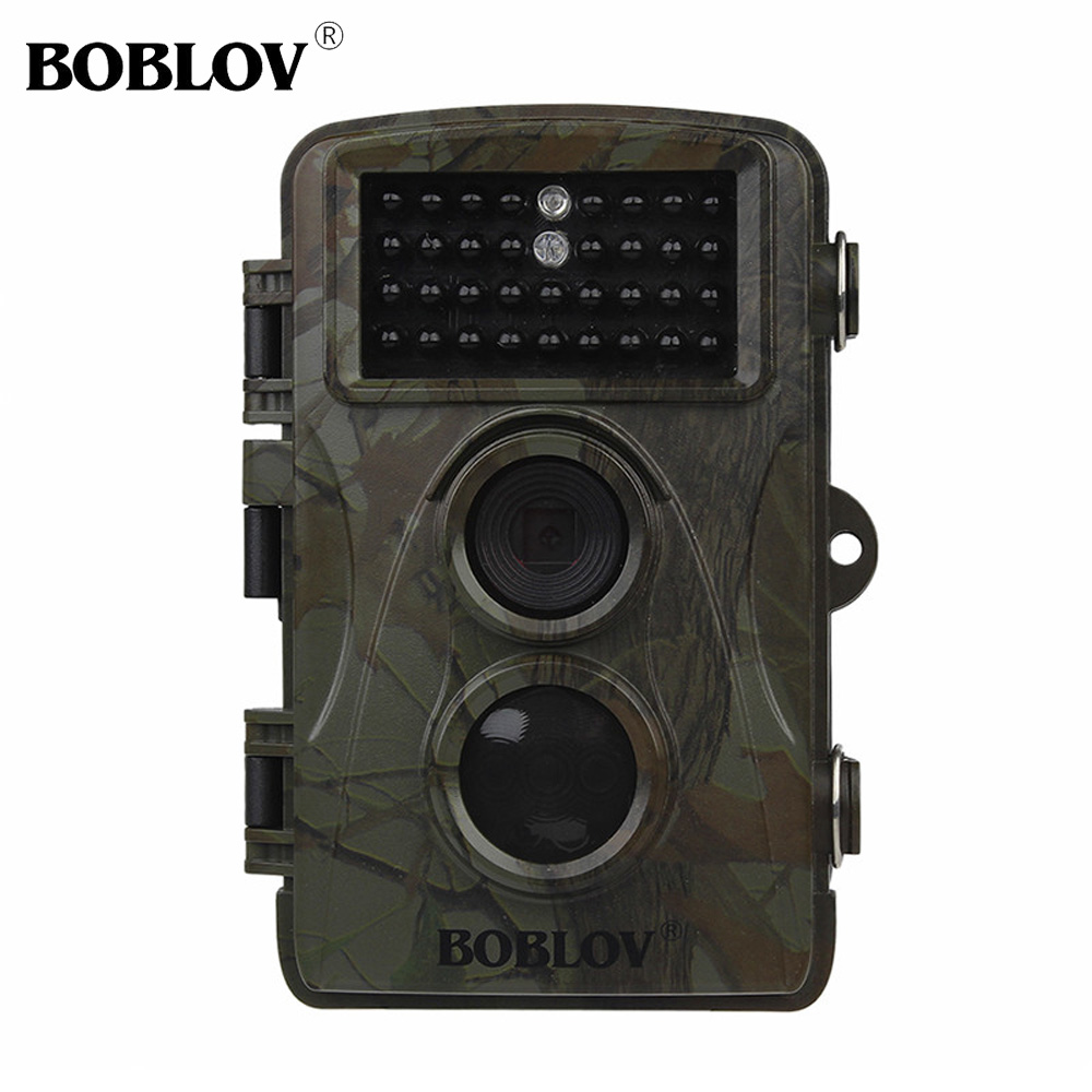 BOBLOV CT007 HD 1080P 12MP Hunting Camera Wildlife Trail Came Scounting Cam Night Vision Motion Detection 0.6S TriggerTime bestguarder sy 007 360 degree wireless hunting trail