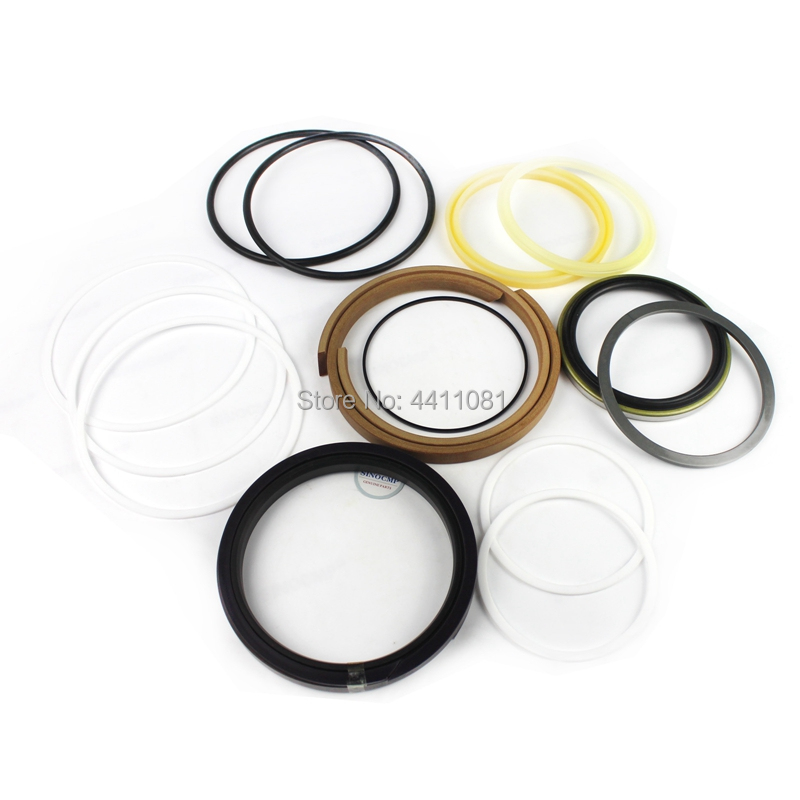 2 sets For Hyundai R130LC-1(E) RX130 Boom Cylinder Repair Seal Kit Excavator Service Kit, 3 month warranty high quality excavator seal kit for komatsu pc200 5 bucket cylinder repair seal kit 707 99 45220
