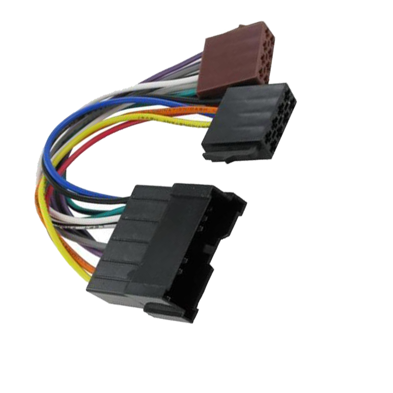 US $8.86 7% OFF|Car ISO WIRING HARNESS Radio Plug Cable Loom for Hyundai on miata wiring harness, pt cruiser wiring harness, 4runner wiring harness, camry wiring harness,
