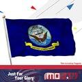 Mofan ВМС США флаг-холст заголовок и дважды сшитые США Военная Униформа флаги полиэстер с 2 Латунь Втулки 3x5 футов Indoor/Outdoor - фото