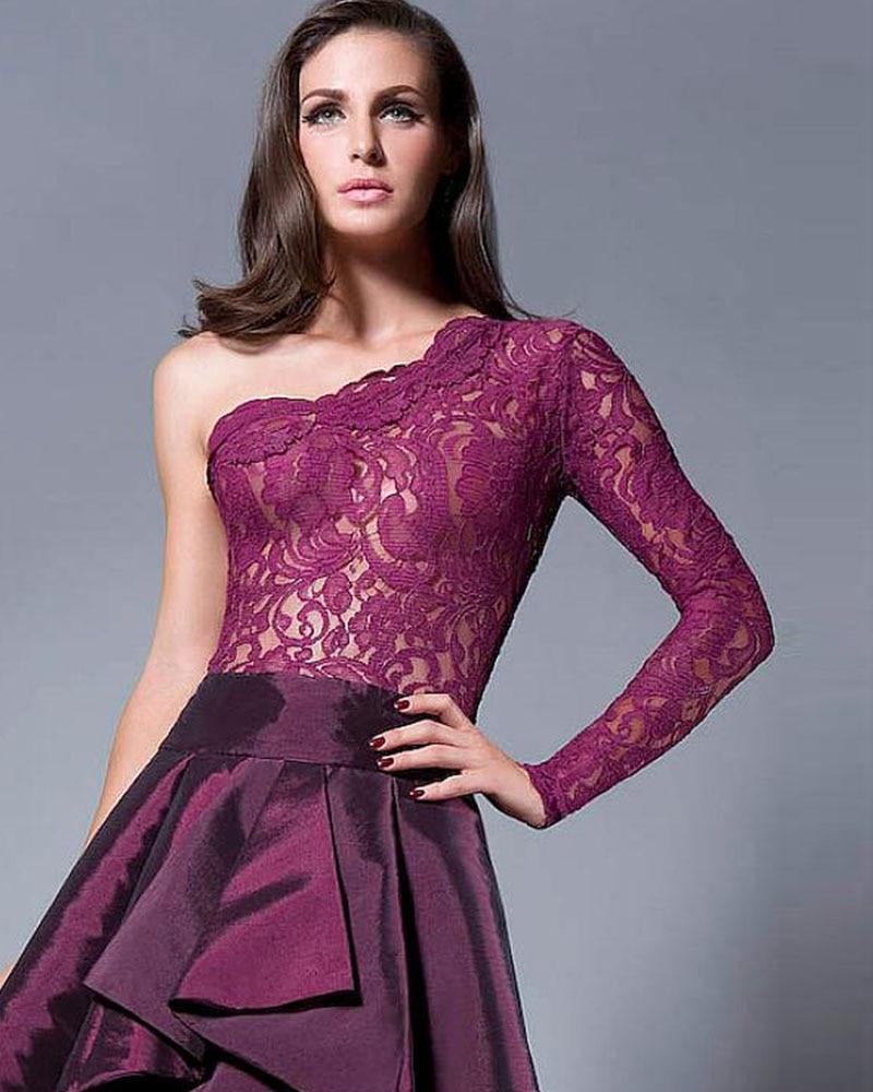 Bonito Vestido De Fiesta En Rojo Embellecimiento - Vestido de Novia ...