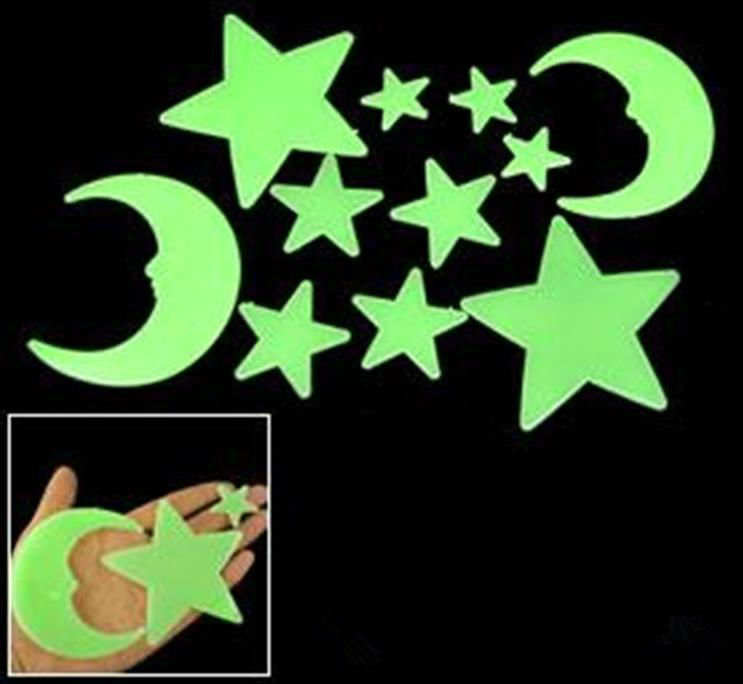4kg Glow In The Dark Star Moon Multi Size PP Material