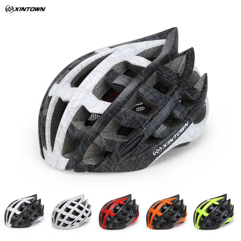 XINTOWN Bicycle Safety Helmets Integral Molding Helmets Men Women 29Vents Ultra light Cycling Security Comfortable Helmets