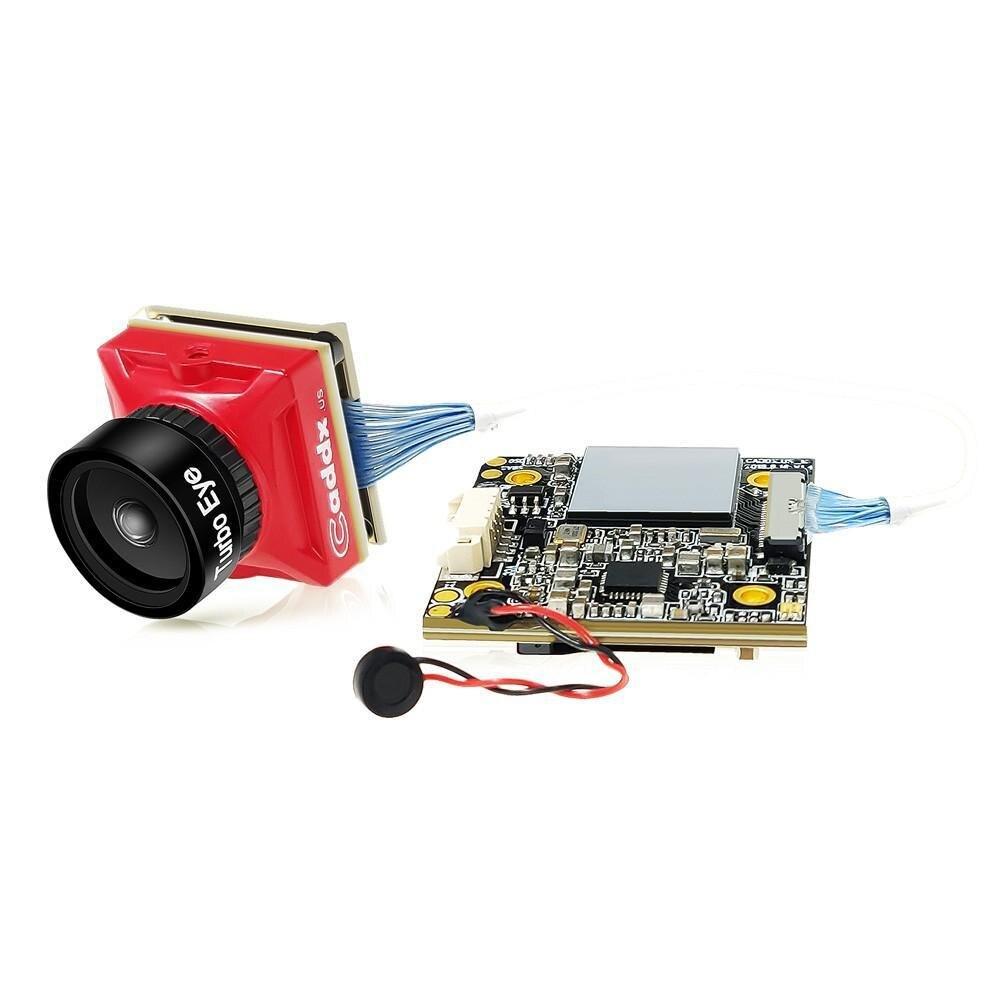 LeadingStar Caddx Schildkröte V2 1080p 60fps FOV 155 Grad Super WDR Mini HD FPV Kamera OSD Mic für RC drone