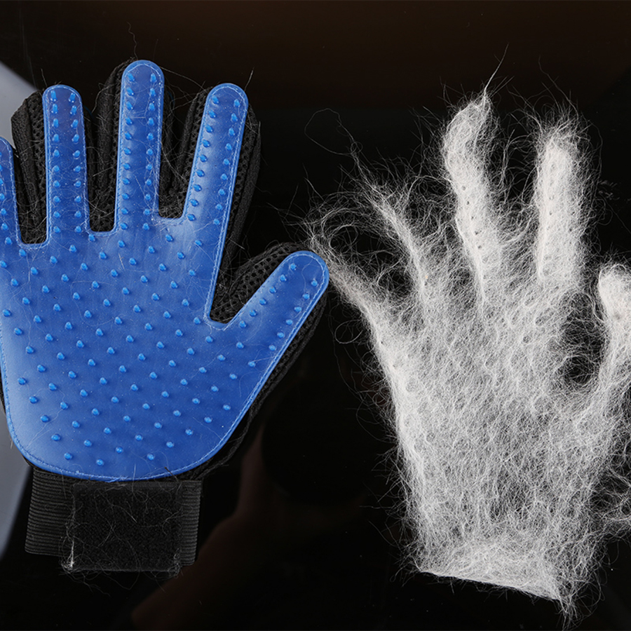 How to remove bathroom silicone - Professional Pet Hair Removal Silicone Brush Cat Bath Grooming Glove Massage Combs Hair Brosse Pet Cleaning Product 70z1322
