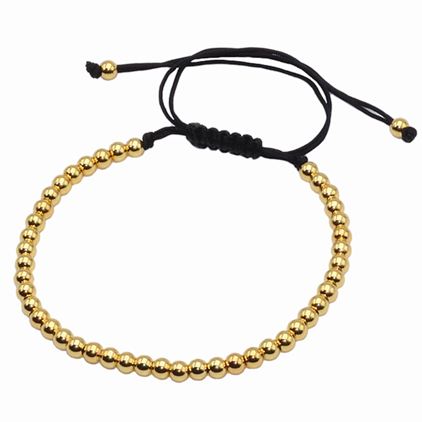 Brading Macrame Men girl Bracelets Gold-s