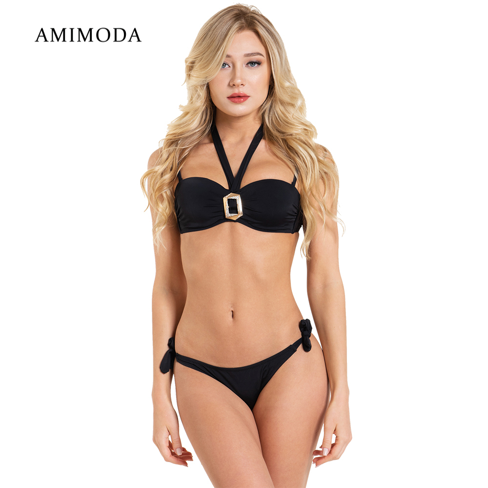Two-Piece Suits Amimoda FD19108-01 separate swimsuit for women swimwear