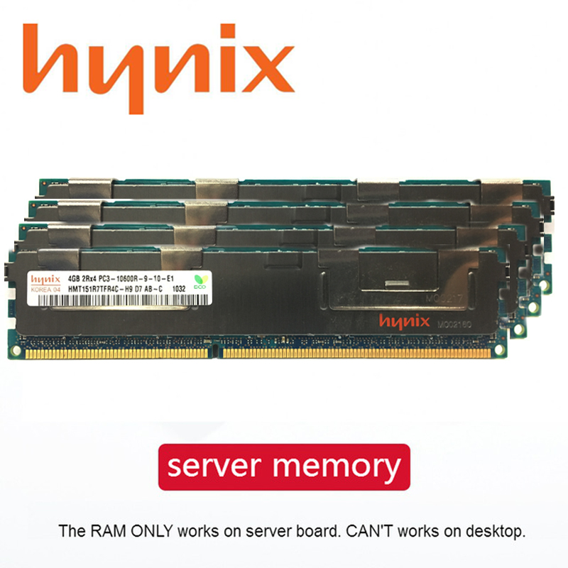 Memória do servidor ddr3 pc3 4 gb 8 gb 16 gb 32 gb 1333 mhz 1600 mhz 1866 mhz ecc reg apropriado para a placa-mãe do servidor em dois sentidos 1866 1333 1600