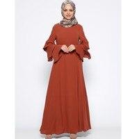 Muslim Dress Turkey Dubai Abayas For Women Bangladesh Turkish Islamic Clothing Loose long skirt Arab