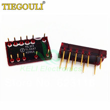 5LOT/PCS Promotion TIL311 Encapsulation DIP11 HEXADECIMAL DISPLAY WITH LOGIC Wholesale