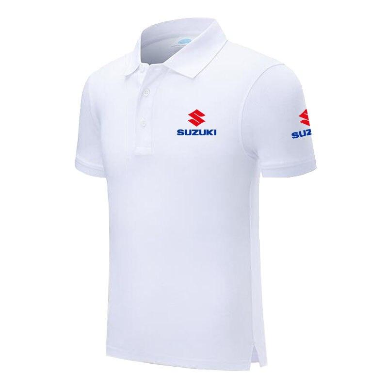 Design Brand Suzuki Logo Custom Men and women Polo Shirts Plus Size Polo Shirt Men Clothing
