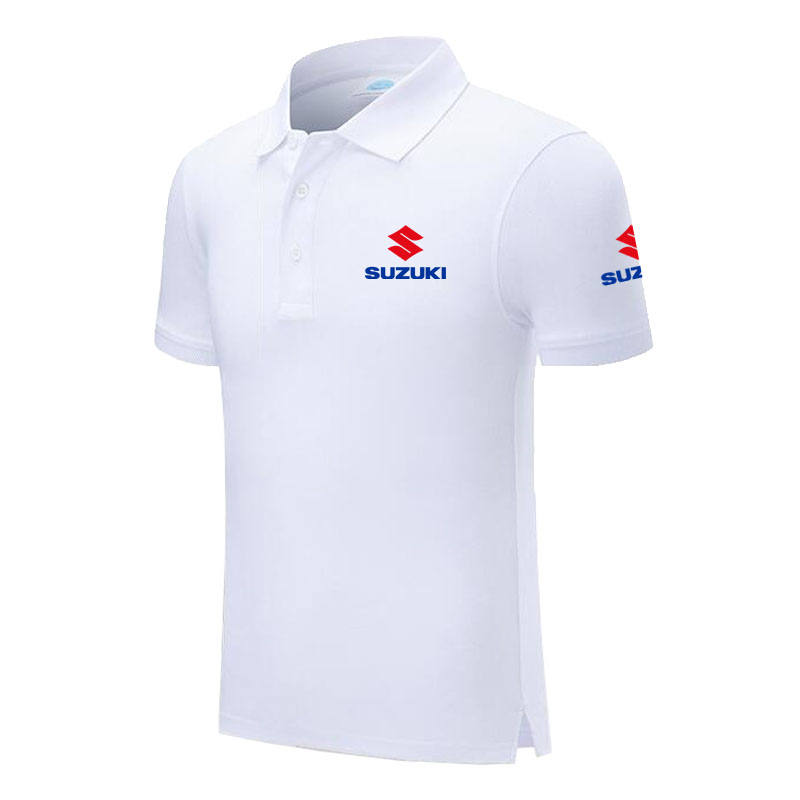 Design Brand Suzuki Logo Custom Men and women   Polo   Shirts Plus Size   Polo   Shirt Men Clothing