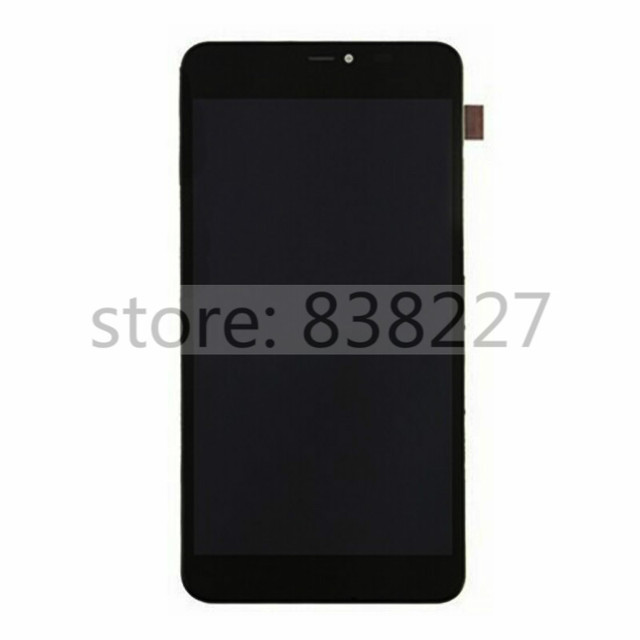 LCD Pantalla For Nokia Microsoft Lumia 640 XL LCD display screen with  touch Digitizer Assembly Black + Frame