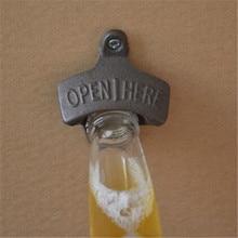 Iron Wall Mounted Bottle Opener