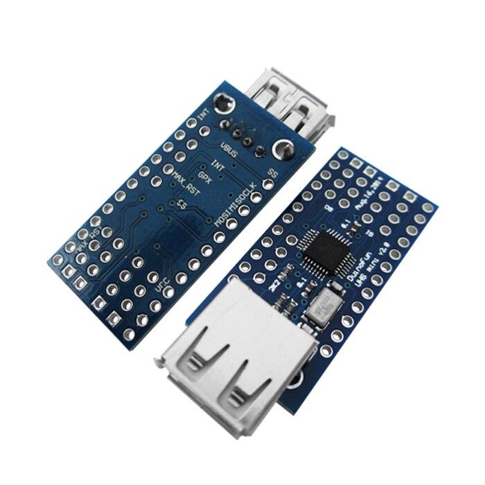 Щит хоста Mini USB с поддержкой Google ADK UNO MEGA Duemilanove, плата расширения, интерфейс SPI