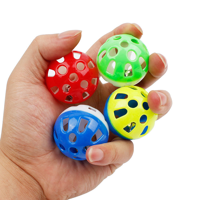 Small Toy Balls : Small ball toy with bell free shipping worldwide