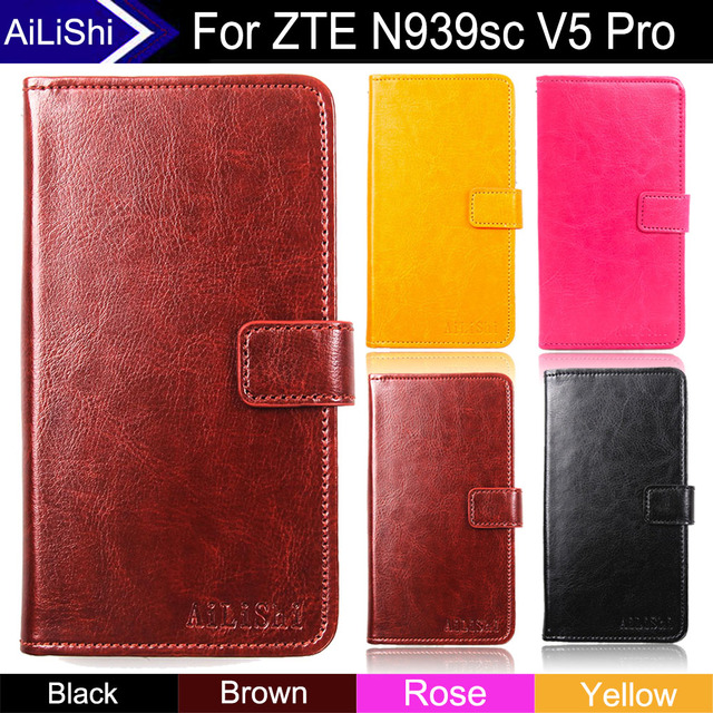 AiLiShi Factory Direct! For ZTE N939sc V5 Pro Case Flip Cover Phone Bag Exclusive Luxury Leather Case Wallet Slot +Tracking