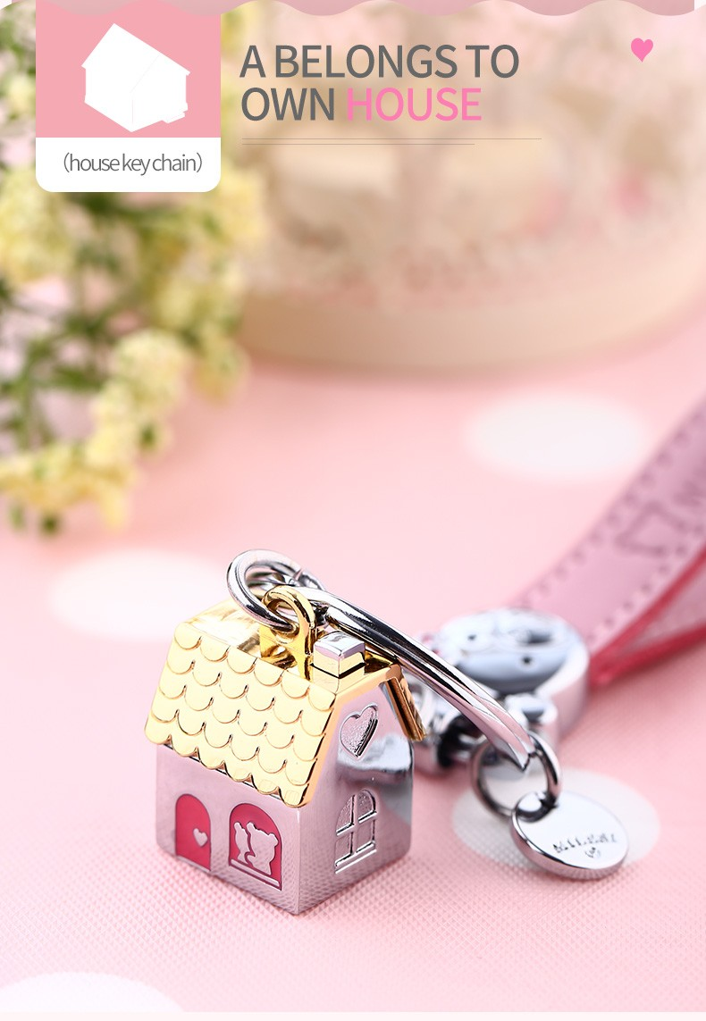Milesi House Keychain And Car Outdoors Shaped Fashion Keychains ...