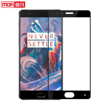 oneplus 3 screen protector one plus a3000 tempered glass three original mofi retail oneplus 3 accessories glass 9H full cover