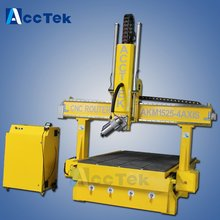 AccTek best selling speedy cnc router machine woodworking for model work with CE certification