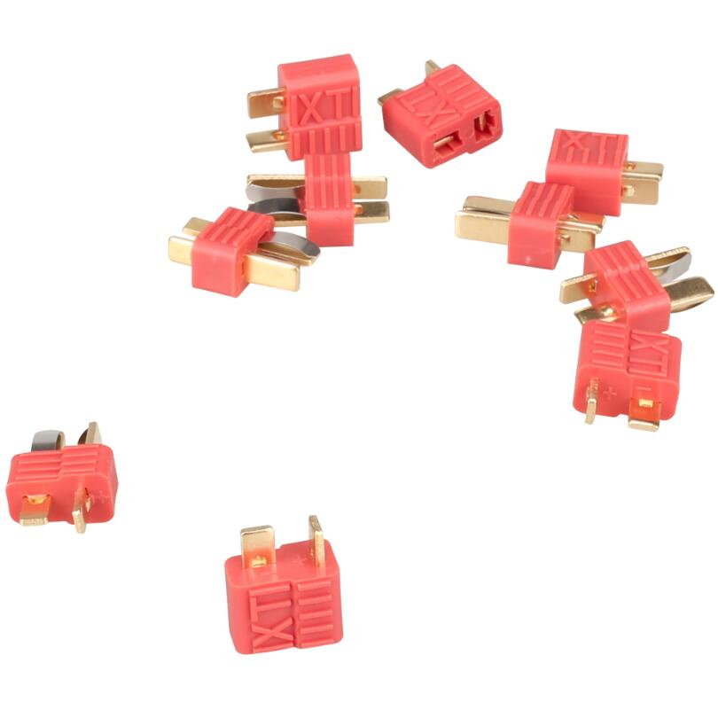 10pair XT plug T plug Dean Connector For ESC Battery male and female 18% Off