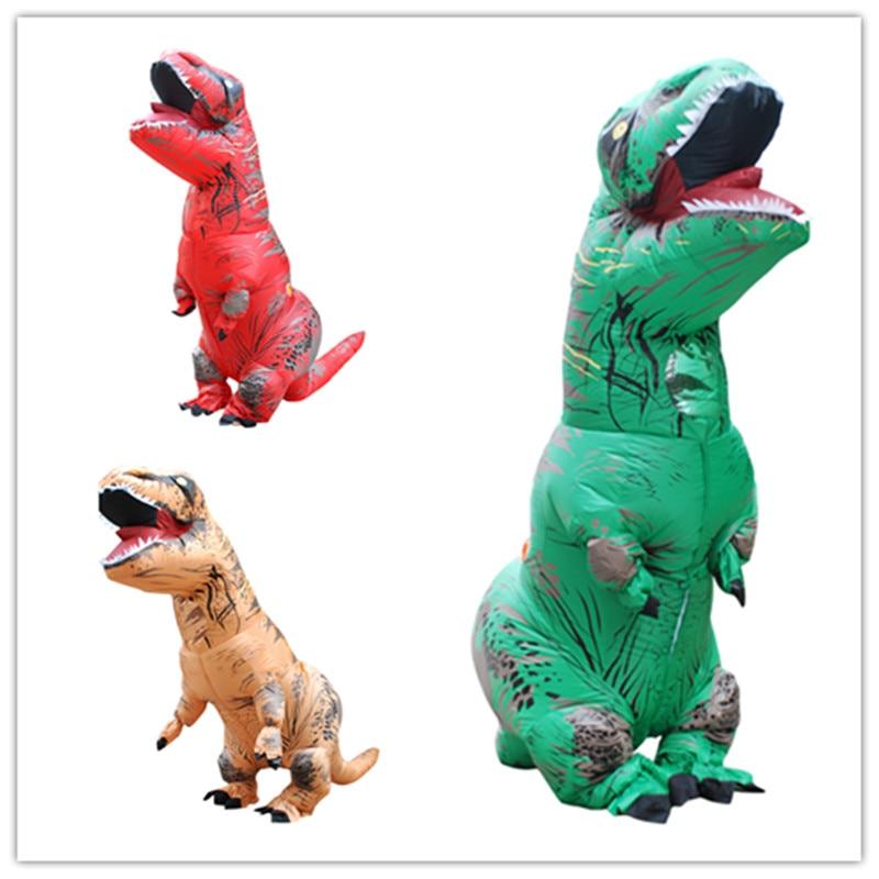 نفخ ديناصور زي تي ريكس هالوين ازياء - ازياء كرنفال