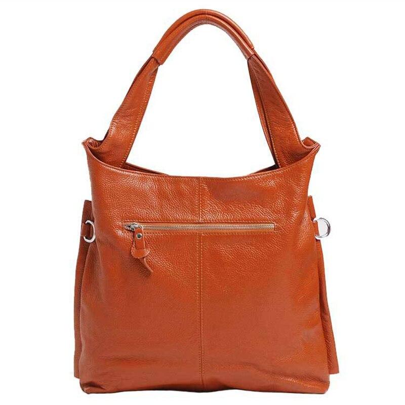 Роскошная брендовая Gabrielle сумка для женщин 2019, высокое качество, коровья кожа, сумка для покупок, модная Большая вместительная черная сумка ... - 3