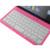 Ultra delgada de 360 grados giratoria giratoria teclado inalámbrico bluetooth soporte case cubierta para ipad 2 3 4 shell