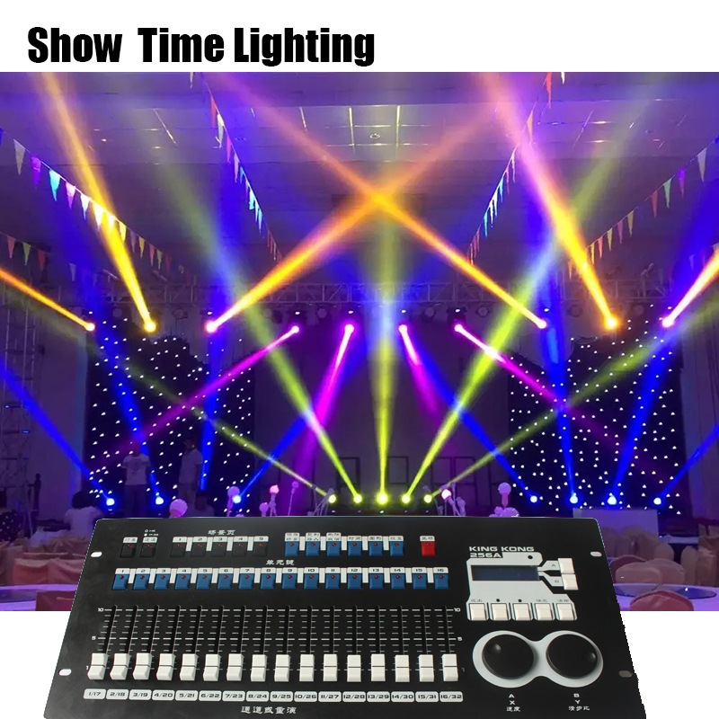 Powerful Built-in Program Professional DMX 512 Master Controller 16 Faders Stage Lighting Console Easy Ship And Make Light Show