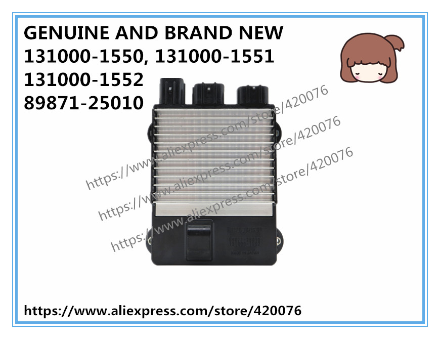 US $9999 0 |GENUINE AND BRAND NEW DIESEL INJECTOR DRIVER ECU 131000 1550,  131000 1552 FOR HILUX 89871 25010 -in Fuel Inject  Controls & Parts from