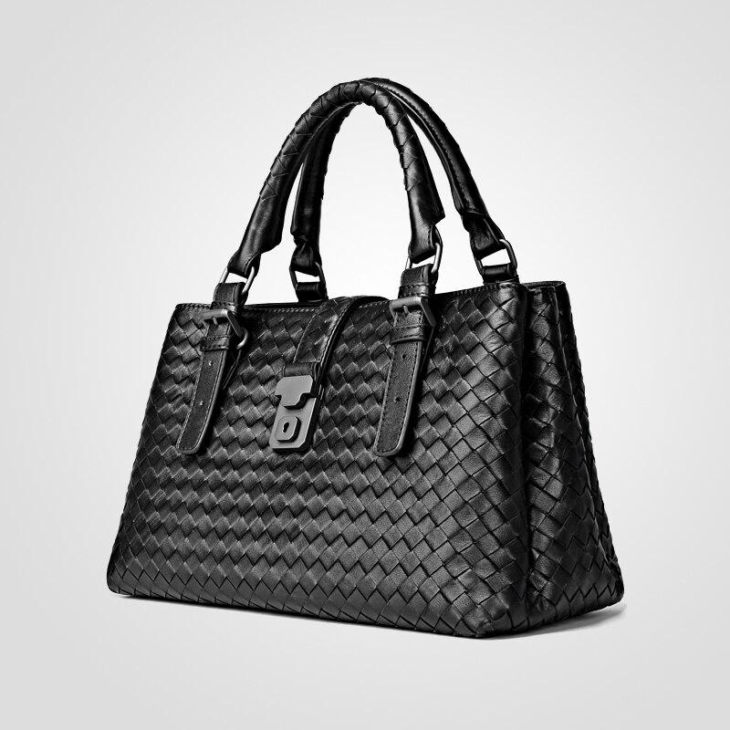 กระเป๋าถือหรูผู้หญิงออกแบบกระเป๋าขนาดใหญ่ความจุกระเป๋าภายในและกระเป๋าซิปกระเป๋าสตางค์แฟชั่น-ใน กระเป๋าหูหิ้วด้านบน จาก สัมภาระและกระเป๋า บน   3