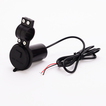Buy Waterproof 12V To 5V 1.5A Motorcycle handlebar USB Charger Power Adapter with switch directly from merchant!