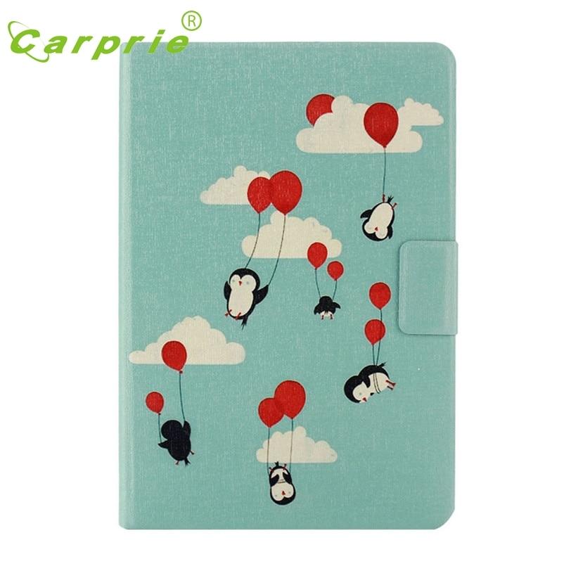 CARPRIE Leather Case for ipad mini 1/2/3 Retina Penguin Painted Stand Cover Feb21 MotherLander