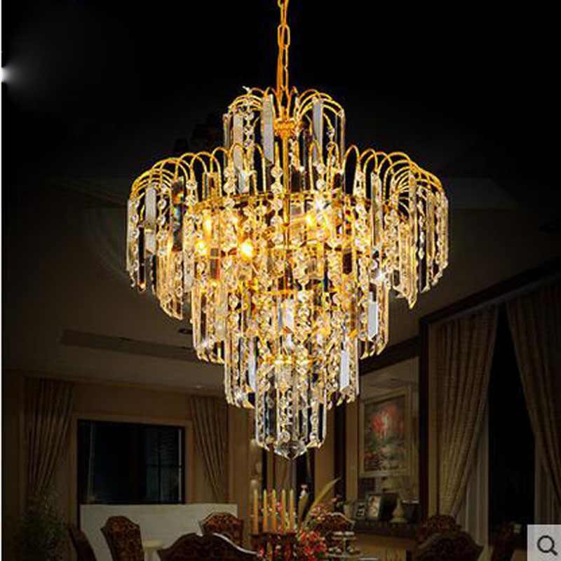 Europäischen stil kleine kronleuchter moderrn kristall lampe für restaurant wohnzimmer vorraum raum atmosphäre flur gang kleidung