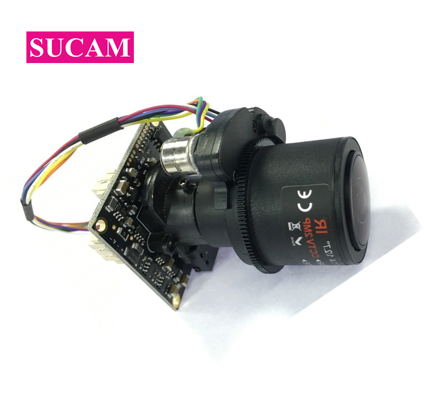 SUCAM CMOS 1080P AHD Security Camera Full HD 2.8 12mm Motorized Varifocal 4XZoom Lens 30M Distance CCTV Camera Pal NTSC