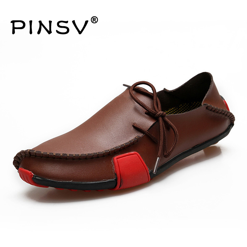 Big Size 47 Leather Shoes Men Shoes Casual Slip On Flats Shoes Men Loafers Moccasins Men Zapatos Hombre 5 Colours plus size 34 41 black khaki lace bow flats shoes for womens ds219 fashion round toe bowtie sweet spring summer fall flats shoes