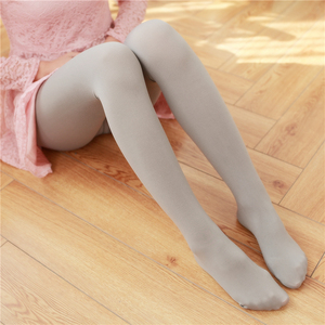 Image 5 - Spring And Autumn Casual Velvet Pantyhose Japanese Soft Sister Solid Color Thin Stockings High Waist Sexy Tight Long Stockings