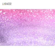 Laeacco Pink Glitter Polka Dots Fantasy Love Party Decor Baby Portrait Photo Backgrounds Backdrops Photocall Studio