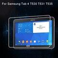 Película de vidrio templado Anti-rotura para Samsung Galaxy TAB 4 T530 T531 T535 10,1 película protectora de pantalla de tableta con paquete de venta al por menor