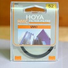 УФ фильтр HOYA HMC для объектива камеры, цифровая защита 37/40, 5/43/46/49/52/55/58/62/67/72/77/82 мм