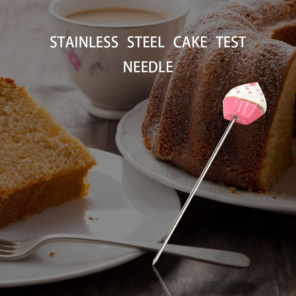 Facemile Baking Tools Stainless Steel Cake Test Pin Love Red Dot Color Random(China)