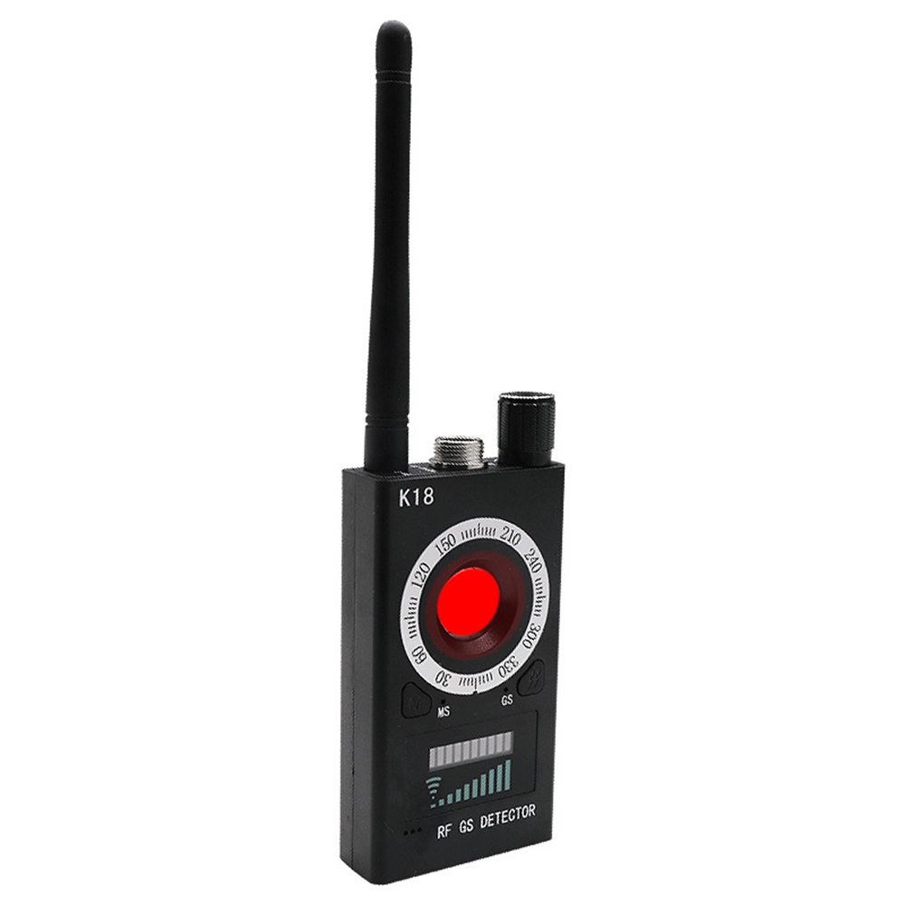 K18 Multi-Function Wireless Camera Lens Signal Detector Anti-eavesdrop Radio Wave Signal Detector RF Tracker DetectK18 Multi-Function Wireless Camera Lens Signal Detector Anti-eavesdrop Radio Wave Signal Detector RF Tracker Detect