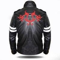 Алекс Мерсер куртка прохладный мужские черные из искусственной кожи Куртка с капюшоном Костюмы супергероев видео игрового персонажа коспл...