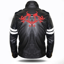 Alex Mercer Jacket Cool Men Black Faux Leather Jacket Hoodie Superhero Costumes Video Game Character Cosplay