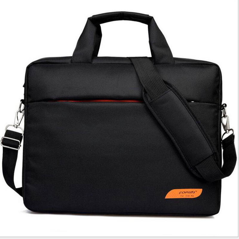 New Waterproof Notebook Computer Laptop 15.6 Inch Portable Package Bag For Men And Women Business Bag fashion Laptop Briefcase aetoo with leather handbag section briefcase men and women fashion personality business package canvas laptop bag 15 inch
