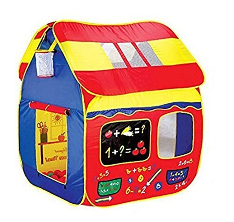 Zewik Kid Tent Superbig Space Play Tent 3-4 Children Game Two-Door House Basketball Shot Sums Open Roof for Indoor and Outdoor hot sale 1000g dynamic amazing diy educational toys no mess indoor magic play sand children toys mars space sand
