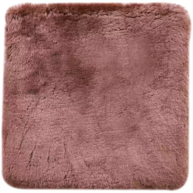 WonderFur Sheepskin Fur Small Rug 50cm*50cm Amazing Sheepfur Cushion Throw  For Chair In Living